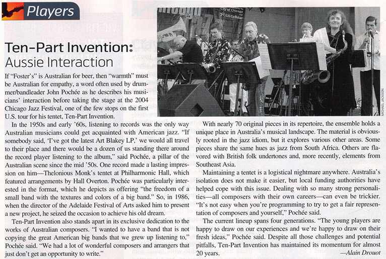Downbeat USA March 2005 Review